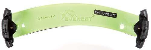 Everest ES2G ES Series 3/4-1/2 Violin Adjustable Shoulder Rest - Neon Green
