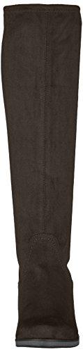 para Mujer Botas 25506 Negro Slouch Caprice 3 Hwafqptx