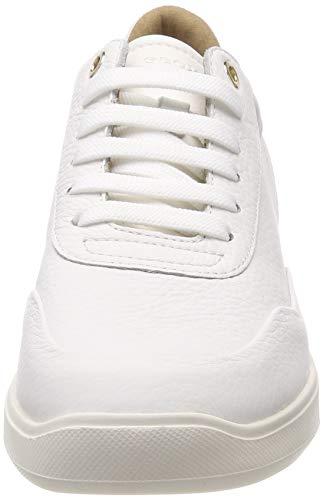Donna C1000 Scarpe da White Rubidia Basse D A Ginnastica Geox Bianco wP0WBFqH