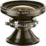 Super Angulon XL72mm Lens f/5.6 With Copal 0 Shutter