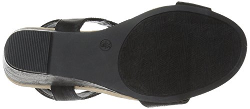 Wedge Chinese Laundry CL by Gore Sandal Women Tatum Black w5AqXxqE
