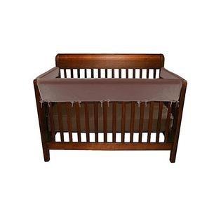 Jolly Jumper 3 Piece Soft Rail for Convertible Cribs (Brown)