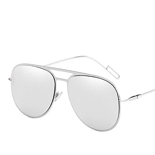 de inoxidable europea sol de cine shing sol acero Aoligei Metal Gafas de tendencia color señora gafas hombres de gafas B sol w6qOFzOUX