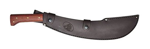 Condor Tool & Knife, Engineer Bolo Machete, 15in Blade, Hardwood Handle with Sheath