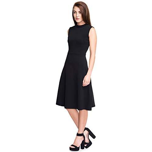 31Se4ZXBm9L. SS500  - Addyvero Women's Cotton and Crush A-Line Dress