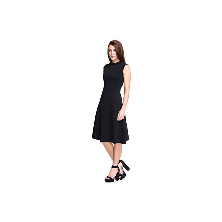 31Se4ZXBm9L. SS768  - ADDYVERO Women's Cotton A-Line Dress