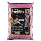 Carib Sea SCS00718 4-Pack Reptiles Calcium Substrate Sand, 10-Pound, Blossum Pink