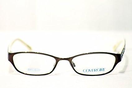 b72d6a7ab07 Amazon.com  Cover Girl Eyeglasses Cg371 Cg-371 048 Brown Optical Frame   Health   Personal Care