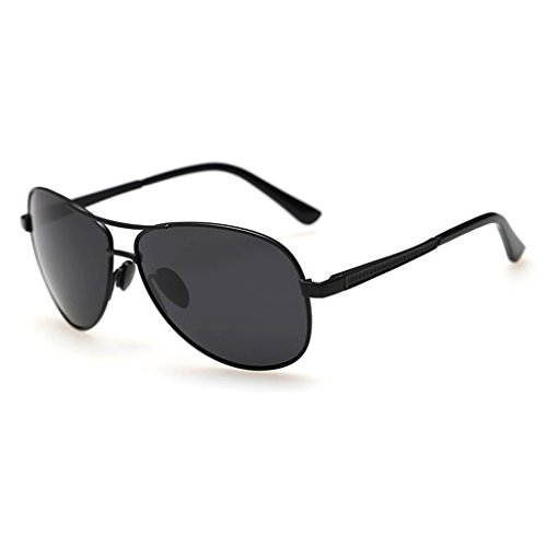 Gafas Negro Negro QZ De Espejo Conductor Sol Color Polarizador HOME Espejo CB5qwxP