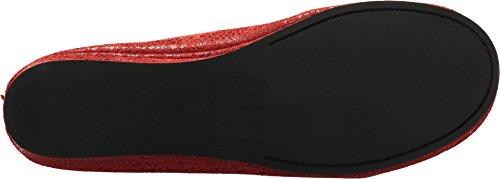 Zapatillas Zeppa En Mujer De Suela Francesa Con Estampado De Remolino Rojo