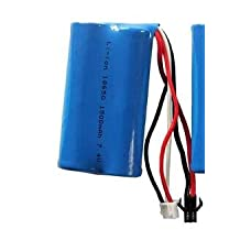 7.4V 18650 remote control helicopter power lithium battery 1500Mah rechargeable battery pack