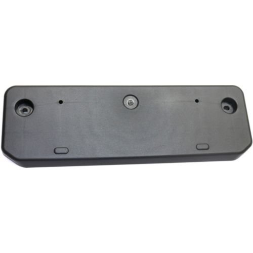 Perfect Fit Group REPT017327 - 4Runner Front License Plate Bracket, Textured, W/ Chrome Trim - Front Runner Bracket