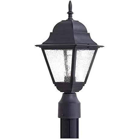 Minka Lavery 9066 66 1 Light Outdoor Post Mount Black