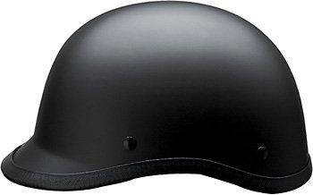 HCI-105 Polo Style Matte Black 1/2 Helmet-M