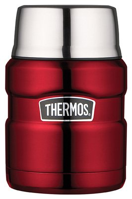 Thermos SK3000CRTRI4 Stainless King Food Jar, Cranberry, ...