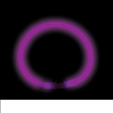 """8"""" Glow Bracelet - (Box of 50) (Purple)"""