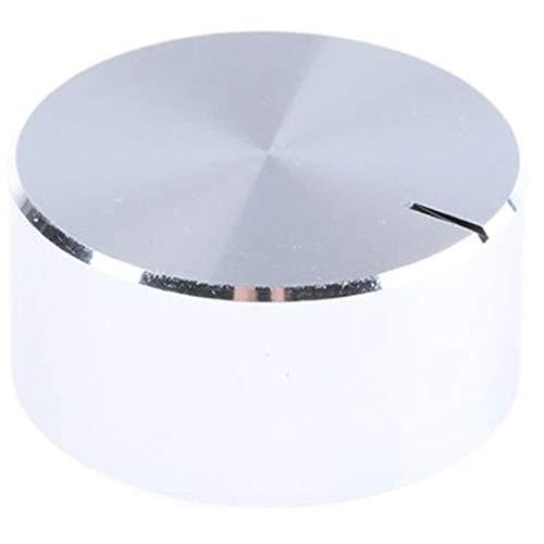 Knob Aluminium (Aluminium Potentiometer Knob; Dia. 29mm; 6.4mm Shaft, Pack of 20)