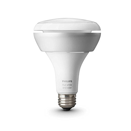 Philips 456665 Hue White & Color Ambiance BR30 Extension Bulb, Works with Amazon Alexa (Certified Refurbished) by Philips (Image #2)