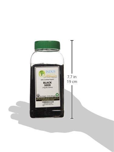 Indus Organics Nigella Sativa, 1 Lb Jar, Black Seeds, Black Cumin, Premium Grade, High Purity, Freshly Packed by Indus Organics (Image #7)