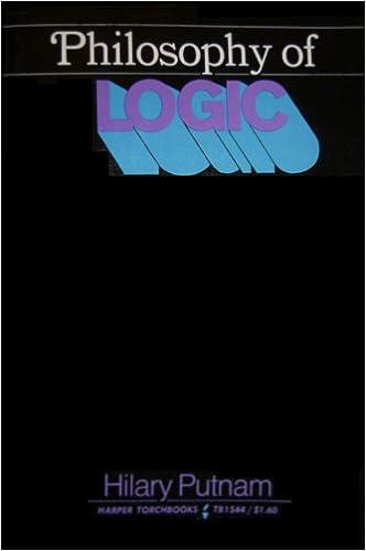 Philosophy of Logic (Harper Torchbooks)