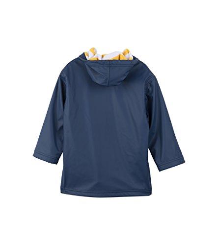 Hatley Little Boys' Splash Jacket, Navy/Yellow, 6 by Hatley (Image #2)