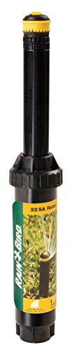 (Rain Bird 22SAQ Mini Rotary Pop-Up Spray, 90° Quarter Circle Pattern, 18' - 24' Spray Distance, 4