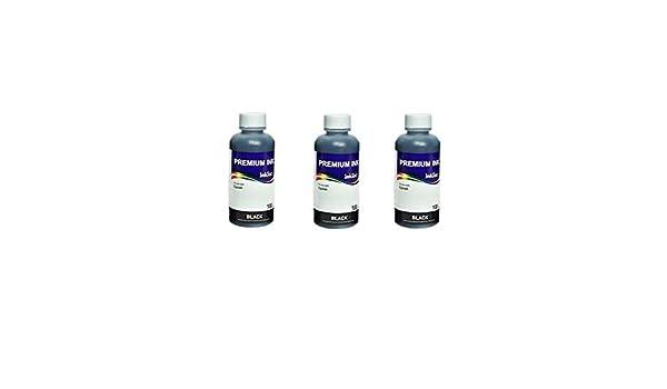 Juego de 3 X ML tintas inktec e0013 Black Compatible con Cartuchos ...