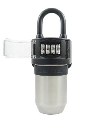 WordLock KS-052-BK Stor-More Key Storage Box with 4 Dial, Black