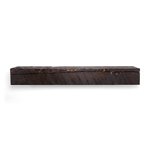 - Dogberry Collections m-sold-6006-mhog-none Mantel Shelf, 60-inch, Mahogany