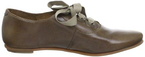 FLY London - Zapatos de cordones de cuero para mujer Gris (Grau (Grau))
