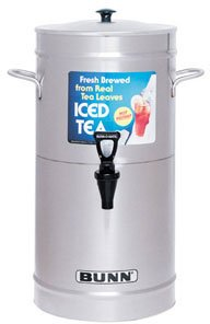 Bunn Cylinder Style Iced Tea Coffee Dispensers -TDS-3.5-0008