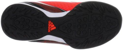 adidas F10 TRX Turf - Zapatos de fútbol de material sintético niño rojo - Rot (infrared / running white ftw / black 1)
