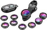 SEGEMS - 10 in 1 Phone Camera Lens Kit-Macro+Wide