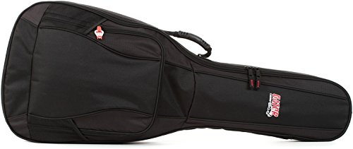 Gator Cases 4G Series Gig Bag for Acoustic Guitars with Adju