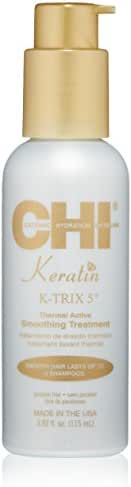 CHI Keratin K-Trix 5 Smoothing Treatment, 3.92 Fl Oz