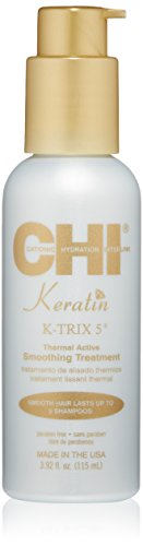 CHI Keratin K-Trix 5 Smoothing Treatment, 3.92 Fl Oz (Best At Home Keratin Smoothing Treatment)