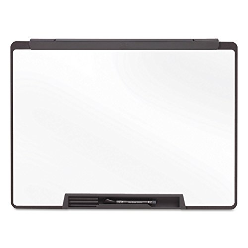 Quartet MMP75 Dry-Erase Board, Motion Cubicle, w/marker,36''x24'', Black by instrainclug