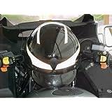 Amazoncom Reflective Motorcycle Helmet Decal Kit Checkers - Motorcycle helmet decal