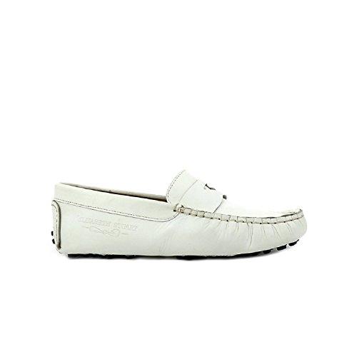 Elizabeth Diana donna Stuart 830 Mocassini bianchi da 1Hn1Rr5Z
