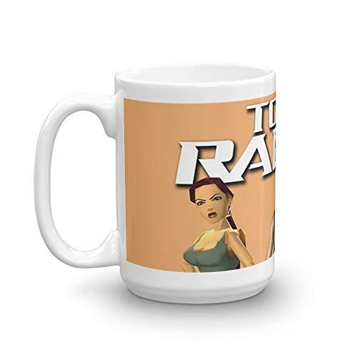 Lara Croft - Tomb Raider 15 Oz White Ceramic