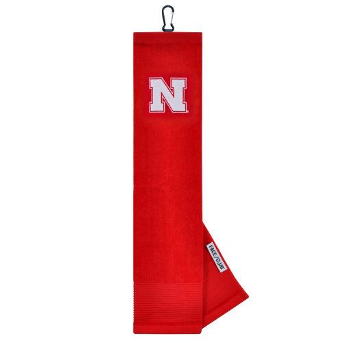 - Nebraska Cornhuskers Face/Club Embroidered Towel