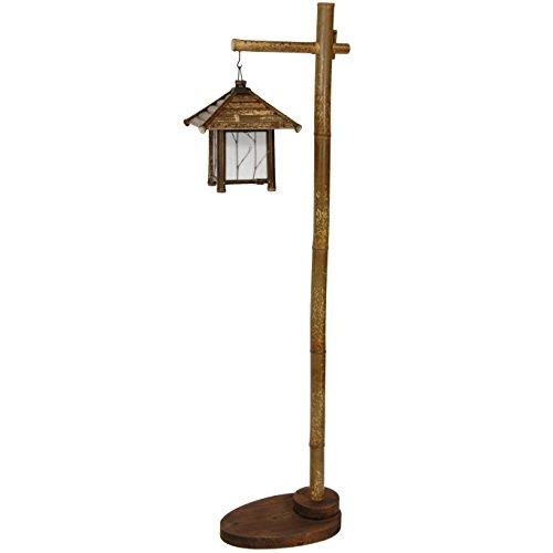 Oriental Furniture Yama Bamboo Lantern Stand
