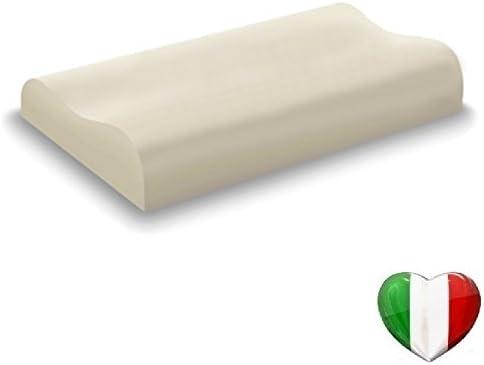 Vendita Cuscini Memory.Guanciale Cuscino In Memory Foam 100 Modello Cervicale Doppia
