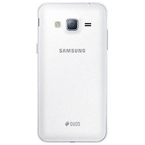 Samsung Galaxy J3 (2016) Duos SM-J320H/DS 8GB Dual SIM Unlocked GSM Smartphone - International Version, No Warranty (White) by Samsung (Image #2)