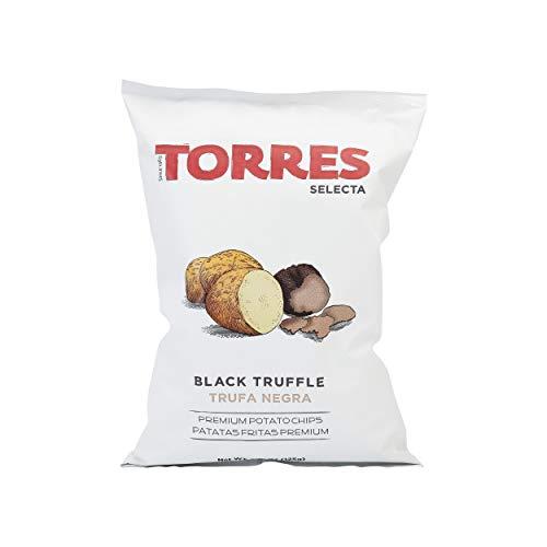 (Patatas Fritas Torres Black Truffle Premium Potato Chips Big Bag (1 x 4.41 Ounce))