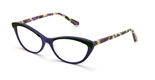 Women Cateye Slim Vintage Fashion Acetate Non-prescription Glasses Frame Clear Lens Eyeglasses - Prescription Cateye Eyeglasses