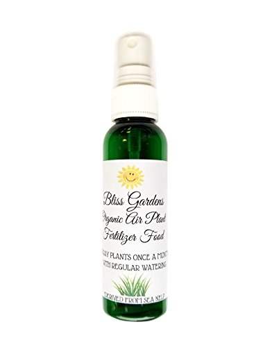 Bliss Gardens Air Plant Tillandsia Organic Fertilizer Food / 2oz Spray Bottle
