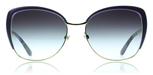 Dolce and Gabbana DG2143 12538G Pale Gold / Violet Sicilian Taste Cats Eyes Sun by Dolce & Gabbana