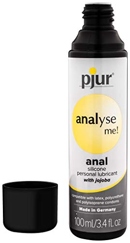 Pjur Analyze Me Condom Safe Silicone Personal Lubricant with Jojoba 3.4 Fluid Ounces / 100 Milliliter (100 Ml)