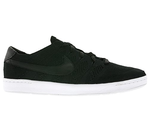 Nike Dark Ultra Tennis Classic Flyknit Tennis Shoe Black Grey Black Men's White CvrfCH